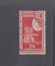 BERMUDA-1953-QE11-2/6d-SG 147-FINE USED-$4.50-freepost