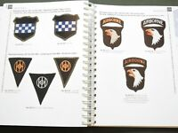 """WW2 US MADE SHOULDER SLEEVE INSIGNIA"" GREENBACK AIRBORNE PATCH REFERENCE BOOK"