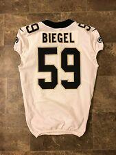 2019 Vince Biegel Game Used New Orleans Saints Jersey