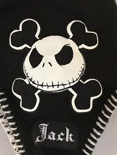 Nightmare Before Christmas Jack Skellington Disney Knit Braided Flap Hat Winter