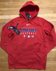 Nike Philadelphia Phillies Mens Hoodie Size XL Nwt MLB Sweatshirt Dri-fit