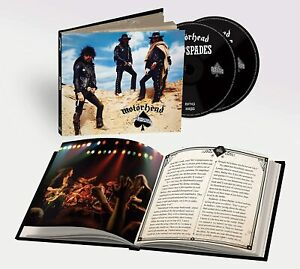 MOTORHEAD ACE OF SPADES 40th ANNIVERSARY (2 CD) (Released 23/10/2020) IN STOCK