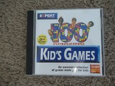 New Listing100 Kid's Games Amazing Expert Software (Microforum, 1997 Pc)