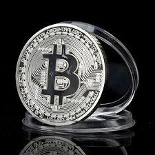 Bitcoin Silber B Silberne Münze Medaille Silberbarren sammler