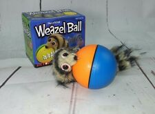 The Original Weazel Ball New Hours ofFun For Cats and Dogs Battery Operated