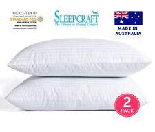 Hotel Deluxe 2 Pack Pillows Australian Made