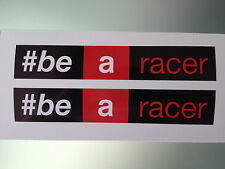 Be a racer stickers / decals (Aprilia #be a racer)