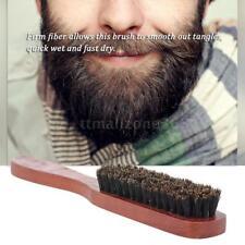 Men's Beard Brush Wooden Mustache Comb Male Shaving Brush Facial Hair Brush L8B0