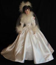 Ashton Drake Porcelain Bride Winter Romance Doll Artist Sandra Bilotto