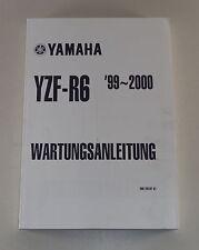 Werkstatthandbuch / Workshop Manual Yamaha YZF-R 6 (L) von 1999-2000