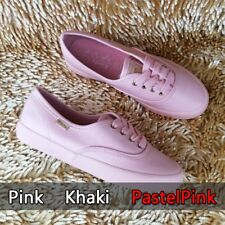 ✔FREE SHIPPING SALE Keds Pastel Pink Leather Shoes Sneakers