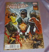 The Amazing Spider-Man #1 (2015) Ryan Sook~Inhumans 1:50 Variant~Cgc Worthy
