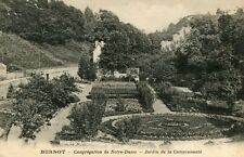 Carte BURNOT Congrégation de Notre Dame Jardin de la Communauté