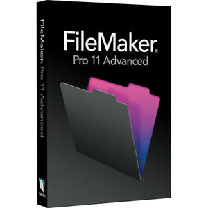 FileMaker Pro 11 Advanced - Windows & Mac