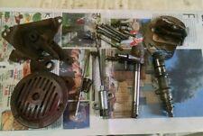 Jawa CZ175 477 Parts lot shifter bolts clutch rods plates horn screws kicker