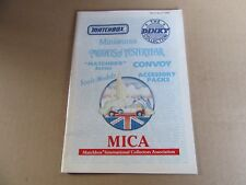 963H Catalogue 1990 Matchbox Of 40 Pages Mica