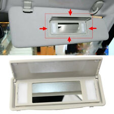 1x Interior Sun Visor Vanity Mirror Fit For 2010-2013 Land Rover LR4 Discovery 4