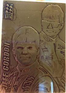 Jeff Gordon Press Pass Highland Mint Bronze Card, 1994 #2696 of 5000