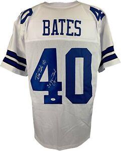 Bill Bates autographed signed inscribed jersey NFL Dallas Cowboys PSA COA
