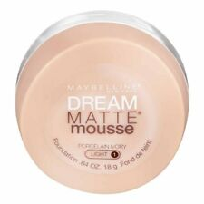MAYBELLINE Dream Matte Mousse Foundation PORCELAIN IVORY L1 NEW Light 1