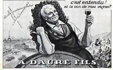 CPA 66 PERPIGNAN - A. DAURE FILS - C´est entendu ! et le vin de mes vignes ?
