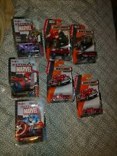 7 pc lot Matchbox HEROIC RESCUE + MAISTO MARVEL NOS NIP SPIDERMAN GAMBIT FORD