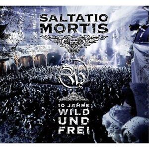 SALTATIO MORTIS - 10 JAHRE WILD UND FREI    CD+DVD NEU