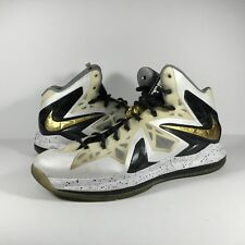 Nike Lebron 10 X Elite Gold