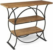 Rectangle Vintage/Retro No Assembly Required Console Tables