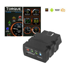Bluetooth OBD2 OBDII ELM327 Automotive Scanner For Android Torque Code Reader