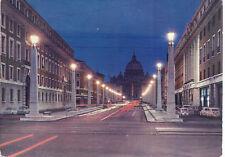ROMA - VIA DELLA CONCILIAZIONE E S. PIETRO - V 1971 - FG - Notturno