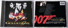 GOLDEN EYE James Bond Soundtrack .. Rare 1995 Virgin Club Edition CD