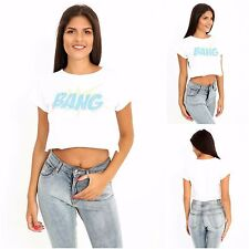Wholesale Joblot Womens Ladies Casual New Pack 6 Short Crop Top T Shirt Vest