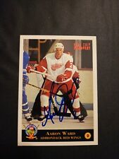 1993-94 Classic Aaron Ward Red Wings Auto Autographed Signed Card