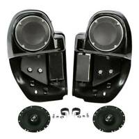 "Lower Vented Fairings w/ 6.5"" Speakers For Harley Touring Street Glide 2014-2020"