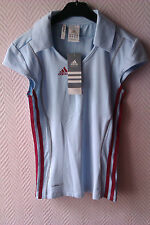 """Polo/Tee-Shirt Femme/Fille """"T.XS"""" Gym Sport """"ADIDAS"""" Performance climalite Neuf"""