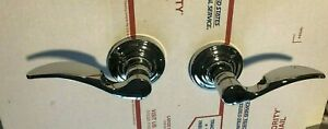 Schlage FA 170 STA 625  Dummy Handle Lever Chrome Finish PAIR/SET RIGHT & LEFT