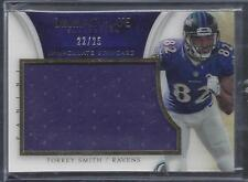 TORREY SMITH 2014 IMMACULATE STANDARD JUMBO GAME USED JERSEY #D 22/25