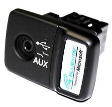 Fiat 500 Panda Punto Azul y me USB Media Player Zócalo aux Genuino 735547937