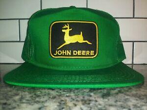 Retro John Deere Tractor Trucker Hat Classic Vintage Style