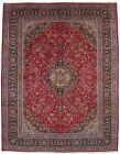 Hand Knotted Vintage Classic Floral Design 10X13 Oriental Rug Home Decor Carpet