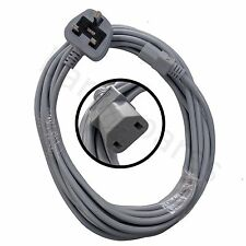 Power Lead Mains Cable for Nilfisk G90 GM80 Vacuum Cleaners UK Plug, 2 Pin 7m