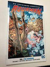 PRIMO:  AQUAMAN vol 1 The Drowning tpb reprints #1-6 REBIRTH DC comics