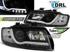 Fanali per Audi a4 10.00-10.04 LIGHT BAR NERO DRL r87