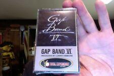 Gap Band- Gap Band VI- new/sealed cassette tape