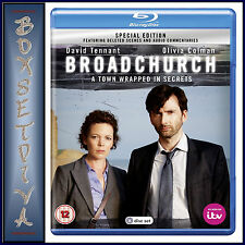 BROADCHURCH -SPECIAL EDITION - Olivia Colman   **BRAND NEW BLU RAY**