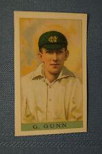 1912 Reeves Chocolates Cricket Prints by County Print 1993 - G. Gunn.