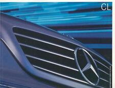2002 Mercedes Benz CL500 CL600 CL55 AMG Brochure mx3907-AVWJN4