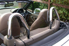 BMW Z3 Chrome Hoop Windscreen Windblocker Wind Deflector; Lifetime Warranty