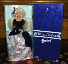 1995 Avon Exclusive Winter Velvet Special Edition Barbie Doll 1st in Series NRFB